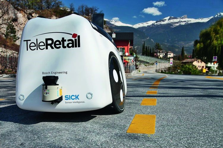 TeleRetail Software Autonomous Delivery