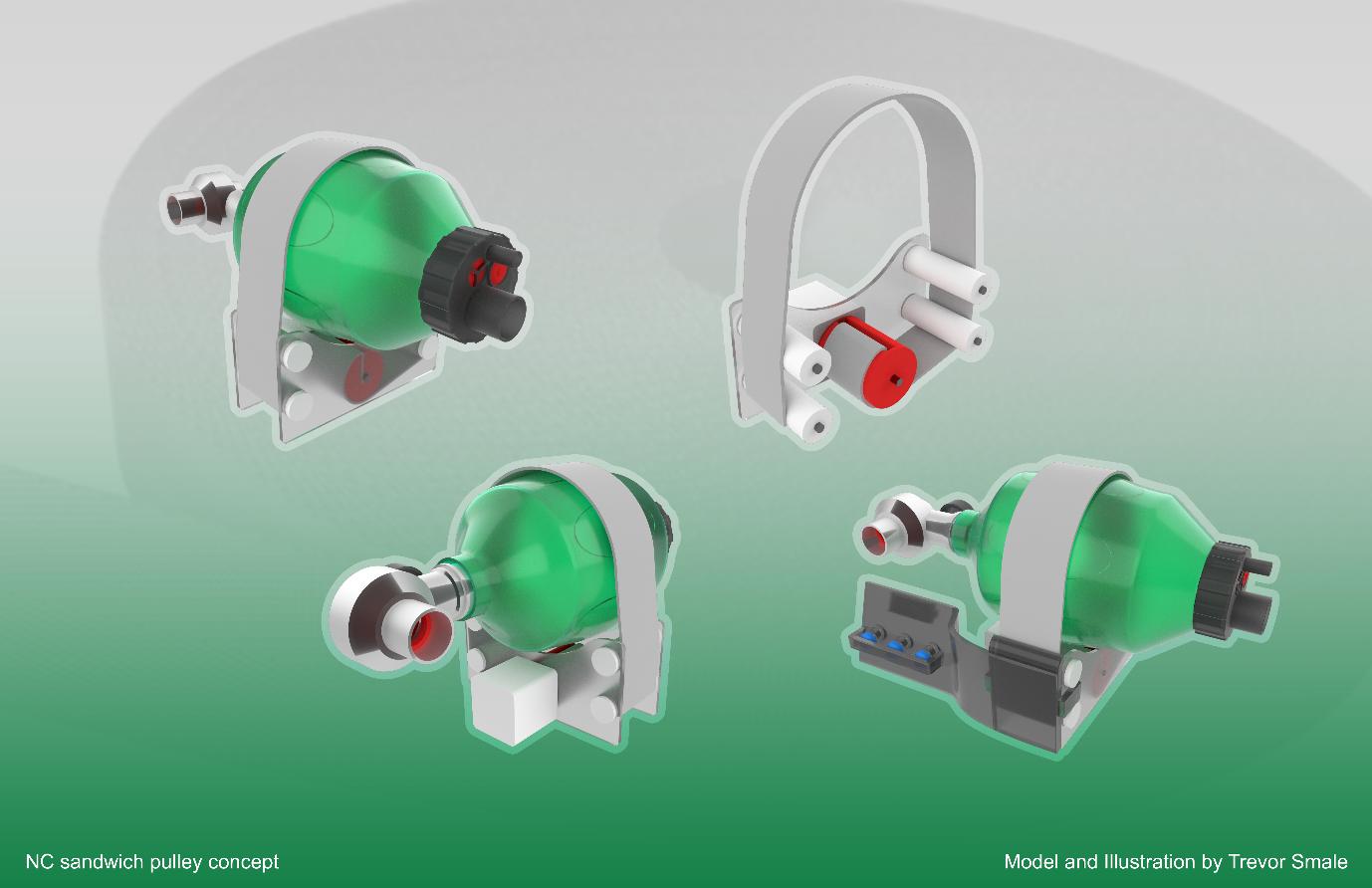 3D Printable Ventilator