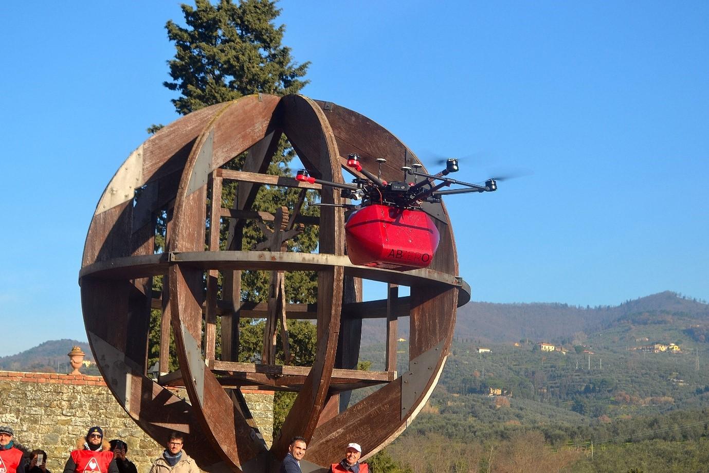 ABZero Biomedical Material Drone Transport